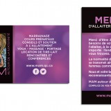 MAM // Cartes distributions promo