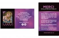 MAM // Cartes distributions promo