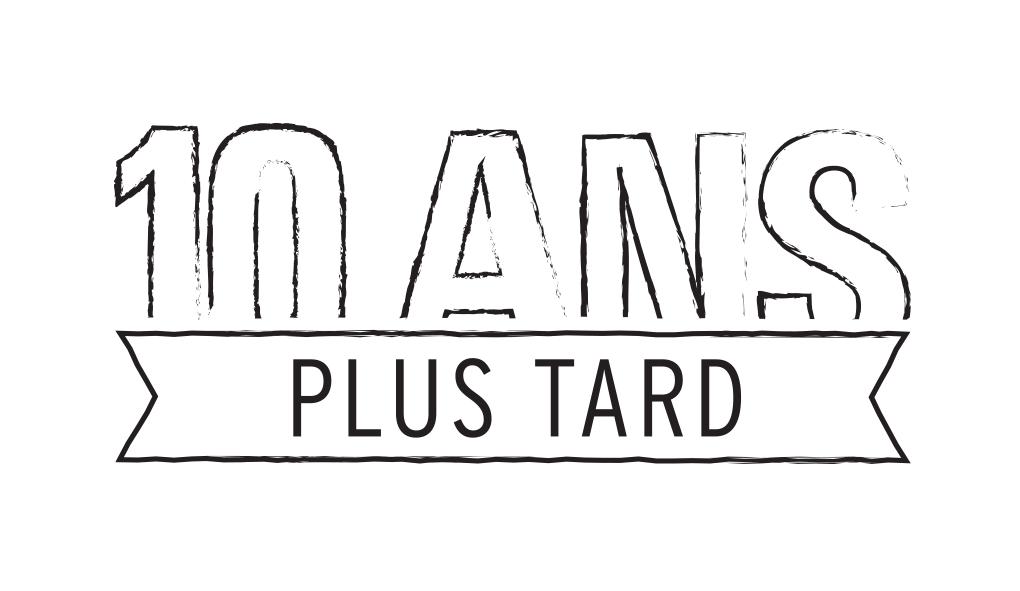 10 ans // logo