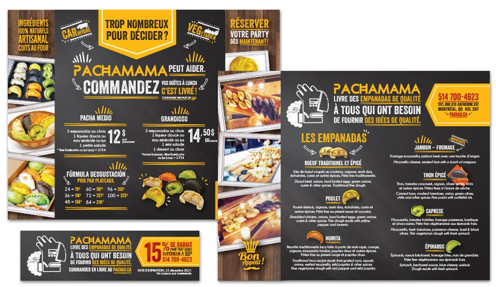 Restaurant flyer promo